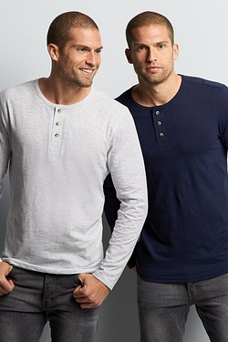 TG Pack Of 2 Long Sleeve Slub T-shirts