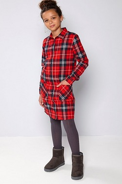 Girls Shirt Dress