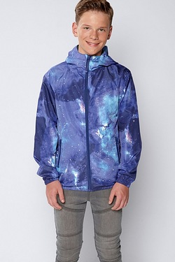 Boys Space Printed Jacket