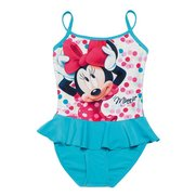 Girl's Minnie Mouse Swim Costume