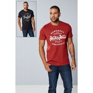 Jack & Jones 2 Pack T-Shirt