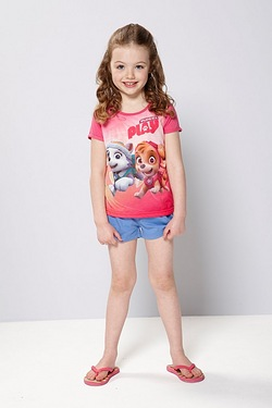 Girl's Paw Patrol Play T-Shirt And ...