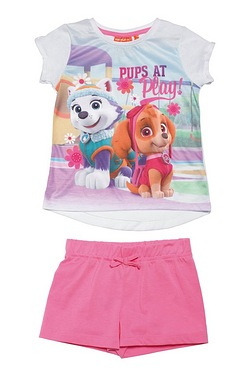 Girls Paw Patrol Pups At Play T-Shi...