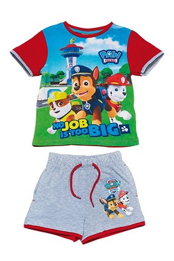 Boy's Paw Patrol T-Shirt and Short Set