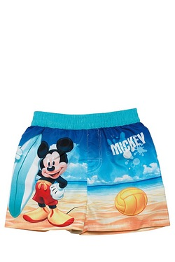 Boy's Mickey Mouse Swim Shorts