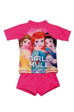 Girls Disney Princess UV Swimsuit