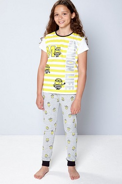 Girls Minions Life Pyjamas