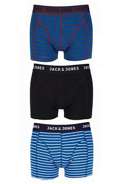 Jack & Jones Pack Of 3 Boxers