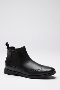 Twisted Gorilla Brogue Chelsea Boot