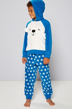Fleece Bear Twosie