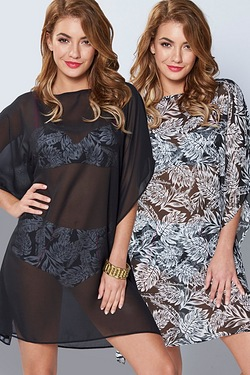 Pack Of 2 Kaftan Cover Ups