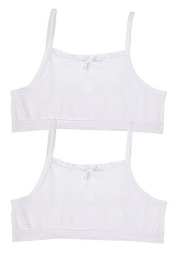 Girl's Pack Of 2 Crop Tops