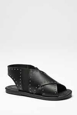 Be You Cross Over Studded Sandal