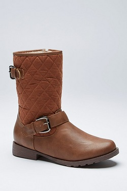 Be You Quilted Fur Lined Boot