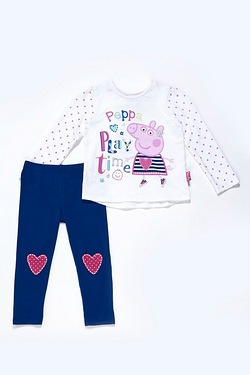 Girls Peppa Pig 2-Piece Set