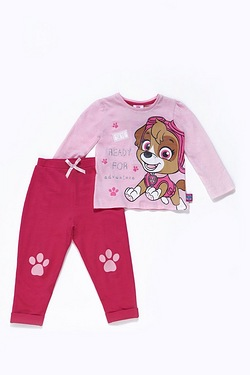 Girls Paw Patrol 2-Piece Set