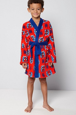 Boys Spider-Man Robe