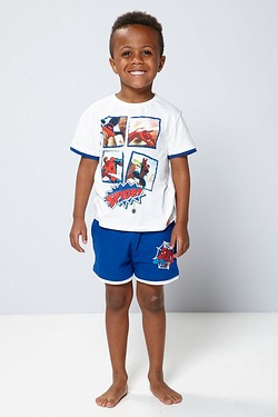 Boy's Spider-Man Tee and Short Set