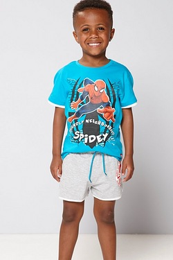 Boy's Spider-Man T-Shirt & Short Set