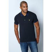 Lyle & Scott Contrast Rib Polo Shirt