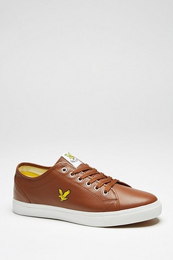 Lyle and Scott Teviot Leather Trainer
