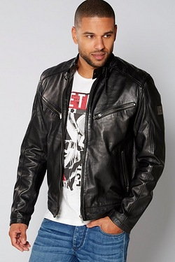 Firetrap Real Leather Jacket