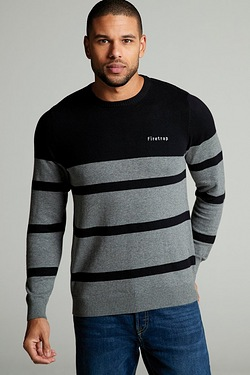Firetrap Striped Knit