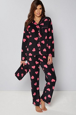 Fleece Pyjamas with Matching Hot Wa...