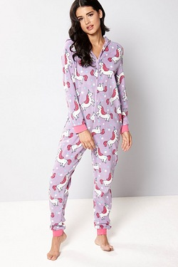 Printed Onesie Without Pom Poms - U...