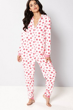 Printed Onesie Without Pom Poms - Spot