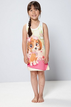 Girls Paw Patrol Skye Sleeveless Dress