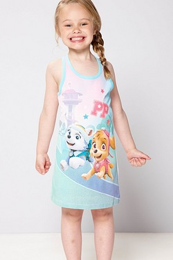 Girls Paw Patrol Sleeveless Dress