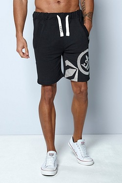 Crosshatch Sweat Short