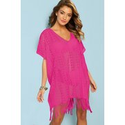 Lace Beach Cover Up Tassel