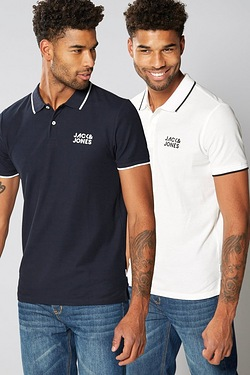 Jack and Jones 2 Pack Polo Shirts