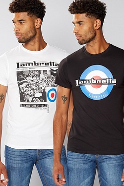 Lambretta Pack of 2 T-Shirts