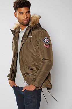 Lambretta Fur Hooded Parka