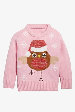 Baby Christmas Jumper - Sparkle Rob...