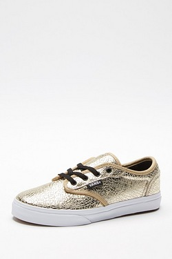 Girls Vans Atwood Trainer - Metalli...