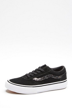 Girls Vans Atwood Trainer - Black/c...