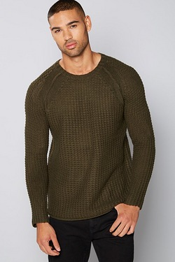 Chunky Basket Knit Jumper