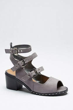 Be You Peep Toe Multi Strap Shoe