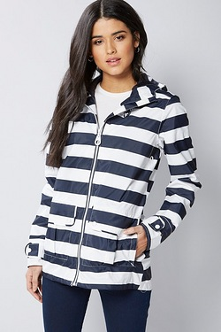 Regatta Bayeur Jacket - Navy Stripe