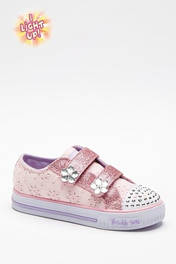 Girls Twinkle Toes Glitter - Flower...