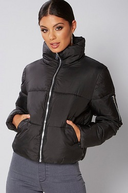 Be You Short Puffa Jacket