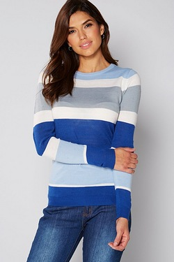 Be You Engineered Stripe Jumper