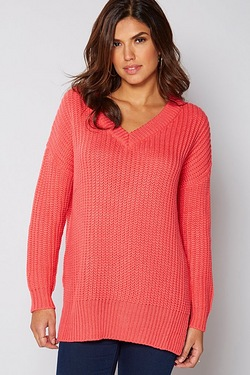Be You V-Neck Slouch Jumper