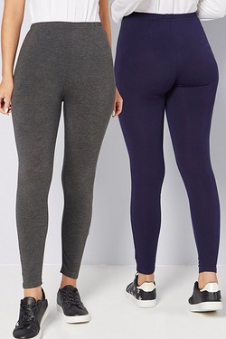 Pack Of 2 Jersey Leggings