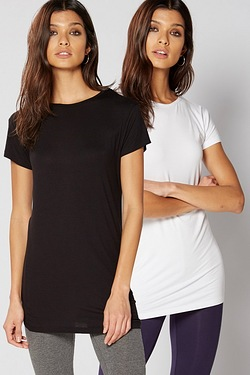 Be You Pack Of 2 Plain T-Shirts