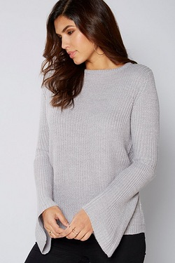 Be You Flute Sleeve Jumper